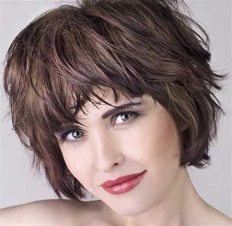medium lo hairstyles for round faces over 60 best 172 choppy shaggy layered haircuts for short