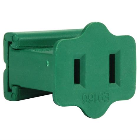 christmas light replacement plug female gilbert replacement plug green spt 1 rated