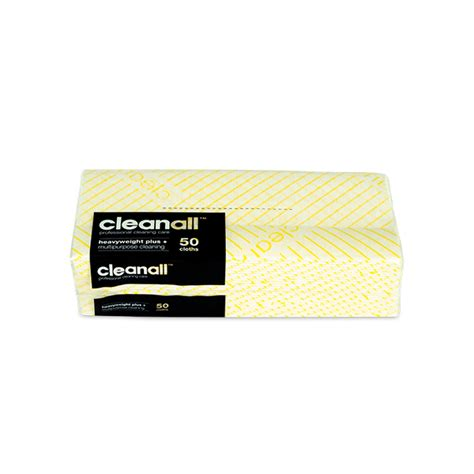 cleanall cleanall heavyweight  cloths yellow