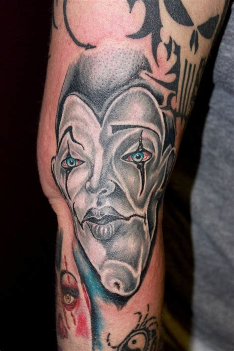 another tattoo best 25 clown ideas on scary clown