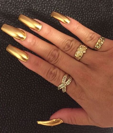 Kitchen Furnishing Ideas by Nail Polish Gold Nails Gold Nails Gold Nail Polish