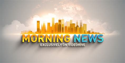 Morning News by Morning News Opener By Template Fx Videohive
