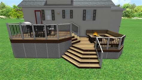 deck and patio design software free 3d decking design software free images