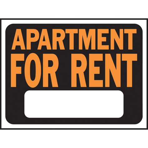 Appartment For Rent by Apartment For Rent Sign Wayfair Supply