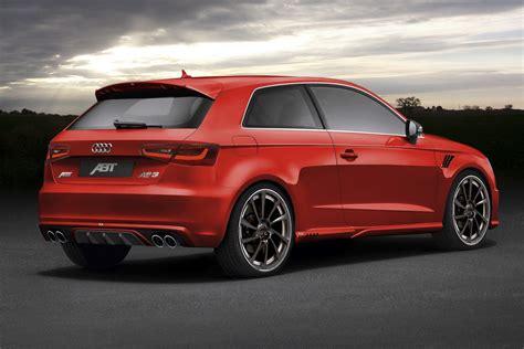 Audi A3 Abt by Abt Announces 2013 Audi A3 Tuning Program Autoevolution