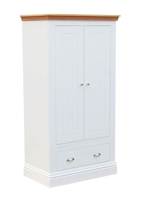 Wardrobe With Drawers by Cotswold Small 2 Door Wardrobe With Drawers