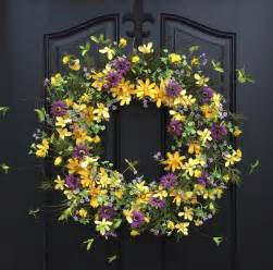 Spring Wreath Ideas handmade spring wreath ideas to decorate your front door