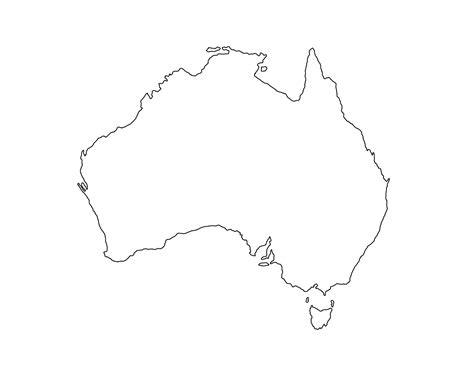 printable maps of australia blank australia map printable