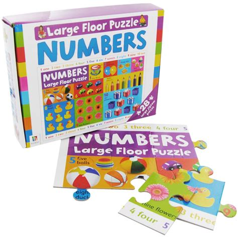 Large Floor Puzzle Numbers Words Hinkler hinkler large floor puzzle numbers babyonline