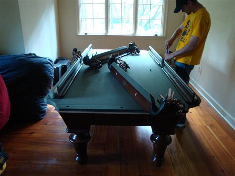 olhausen pool table disassembly go search for