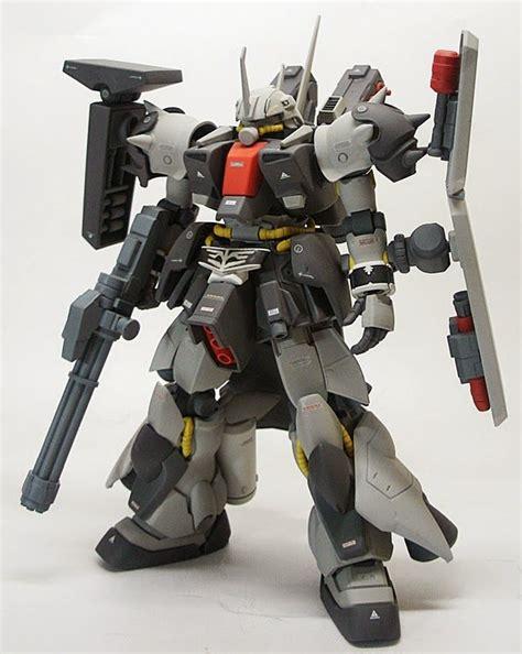Kaos Gundam Gundam Mobile Suit 59 modeler syou model title zaku iii custom modification