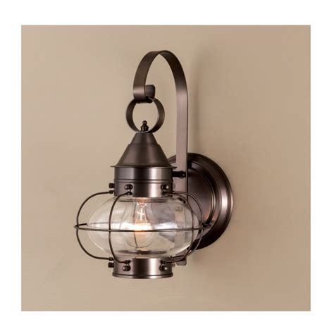 norwell lighting norwell lighting 1323 br cl bronze with clear glass cottage single light 14 quot outdoor