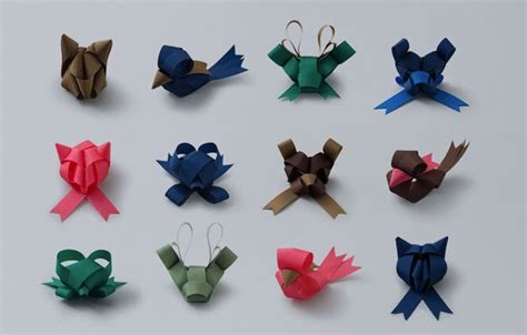 how to make folded ribbon animals ribbon origami amusing planet
