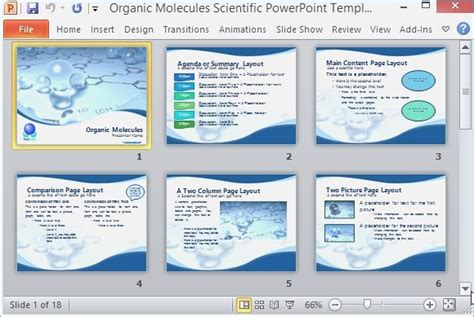 Scientific Presentation Powerpoint Exle Playitaway Me Science Powerpoint Templates