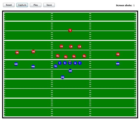 football playmaker template best photos of printable football play templates