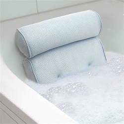 Bath Cusion bath tub spa pillow cushion neck back support foam comfort bathtub w suction cup ebay