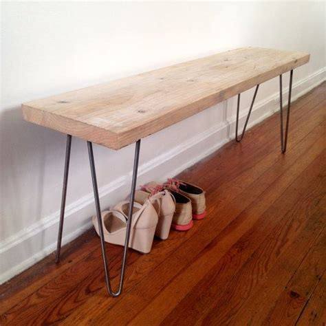 hairpin legs bench hutchinson reclaimed wood bench reclaimed wood and
