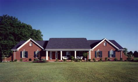 Craftsman Style House Plans One Story by New Brick Home Designs House Plans Ranch Style Home Open