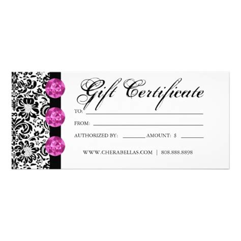 salon gift card template 11 best images of salon gift certificate template