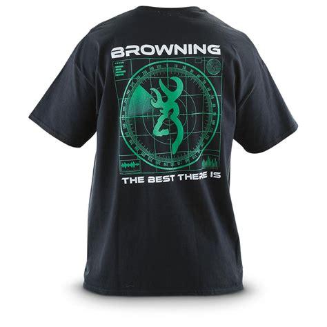 Browning Black Shirt browning 174 radar t shirt black 582069 t shirts at