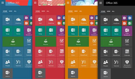 introducing the new office 365 app launcher windows 7