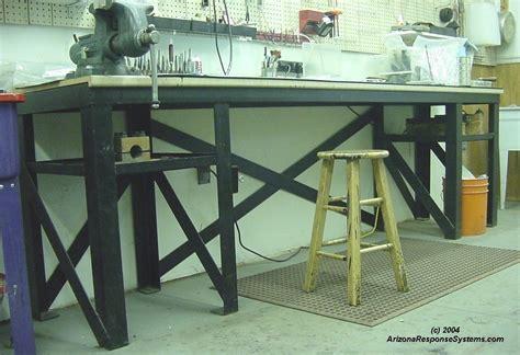 build metal workshop bench plans plans woodworking