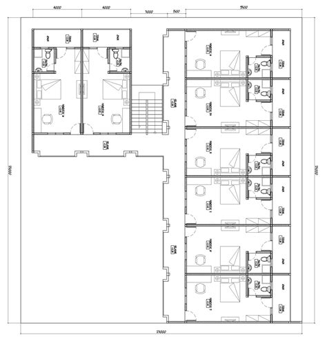 gambar layout hotel desain kamar hotel melati hunianku desain kamar hotel