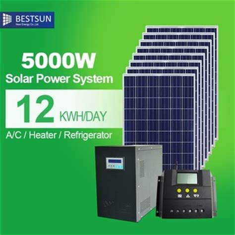 Power Bank Solar System 5kw grid solar system for home solar panel power bank