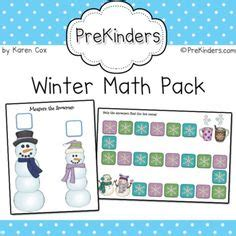 winter theme prekinders math winter themes on pinterest 59 pins