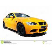 Yellow Car Bmw M3 Tiger Edition Royalty Free Stock Images  Image