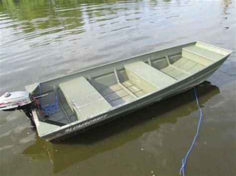 aluminium boot met motor aluminium boot alumacraft 1236 mariner 2 5 pk
