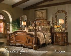 aico bedroom set buy villa valencia bedroom set by aico from www