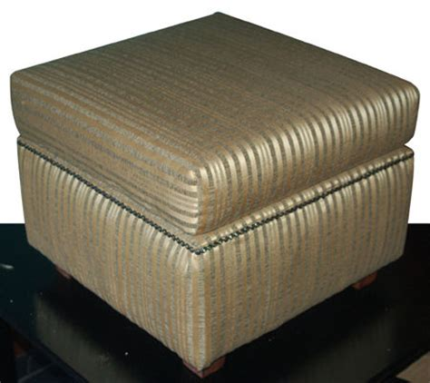 how to build an ottoman how to make a basic upholstered ottoman 11 steps