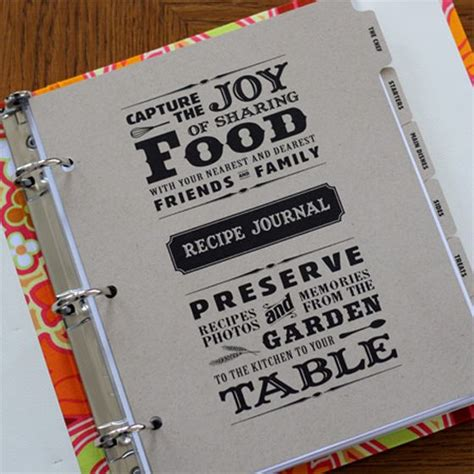 Handmade Cookbook Ideas - the world s catalog of ideas