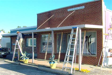 Awnings Nc by Commercial Awnings Atlantic Awnings Nc