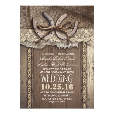 Wedding Invitations Country by Vintage Country Wedding Invitations 5 Quot X 7 Quot Invitation