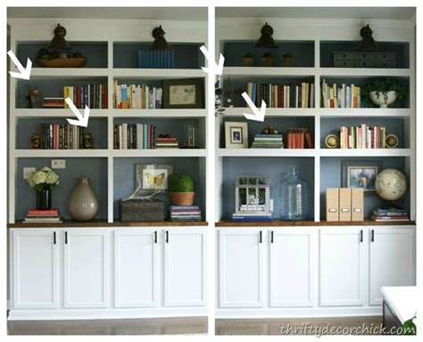 how to decorate built in shelves how to decorate dining room built ins decor pinterest