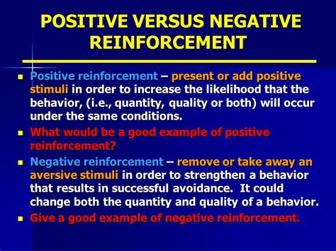 reinforcement and feedback ppt video online download