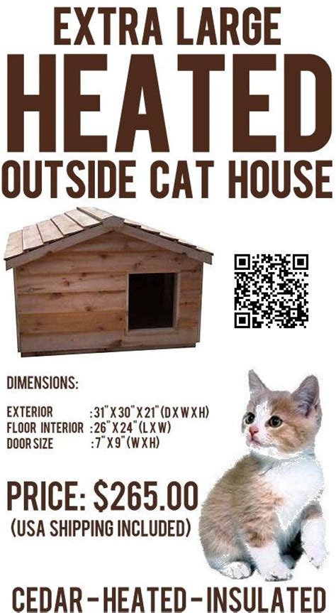 heated cat house plans best 25 heated outdoor cat house ideas on pinterest heated cat house outside cat