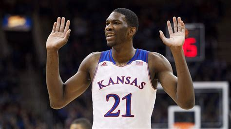 Joel Embiid of Kansas Jayhawks could miss time with injuries Jayhawks