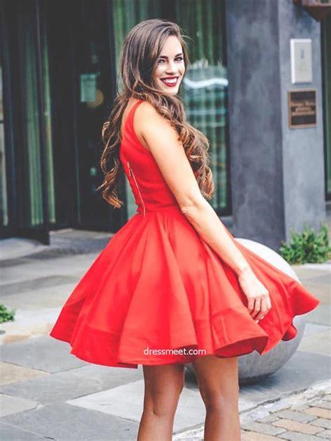 Cute Simple Short Prom Dresses