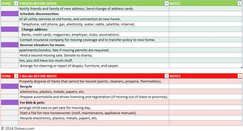 moving checklist template home moving checklist template professional version dotxes