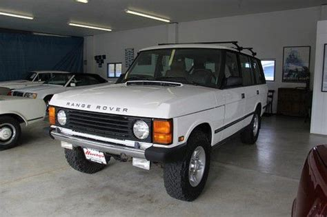 sell used 1993 range rover county lwb classic in phoenix oregon united states