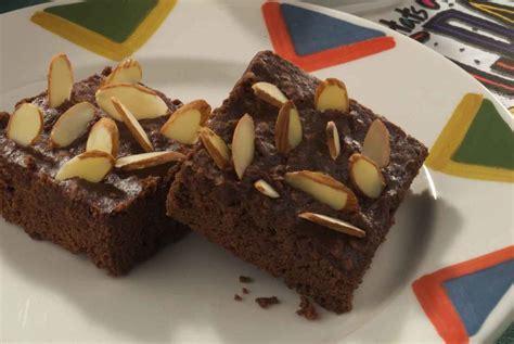Brownies Almond almond brownies mrfood