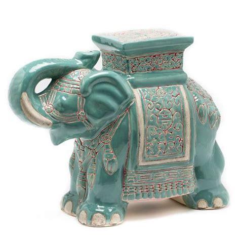 White Ceramic Elephant Stool by 19 Best Ceramic Porcelain Elephants Images On