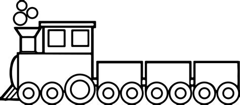 toy train pages coloring pages