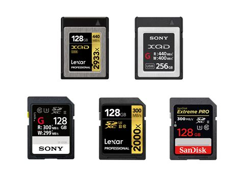 best sd cards best xqd uhs ii sd memory cards for nikon d500 nikon