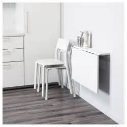 Ikea Folding Wall Table Norberg Wall Mounted Drop Leaf Table White 74x60 Cm Ikea