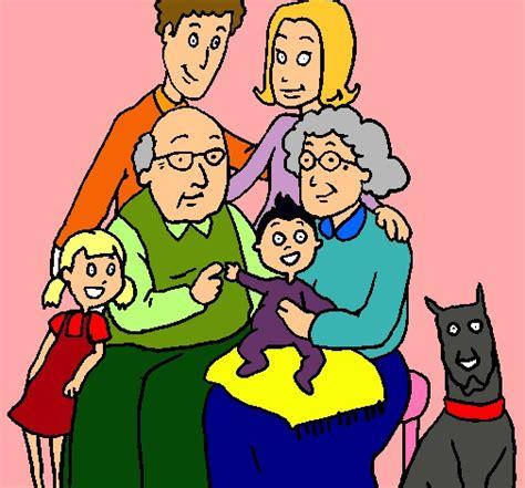 imagenes sobre la familia animada imagenes de familias en dibujos animados bonitas