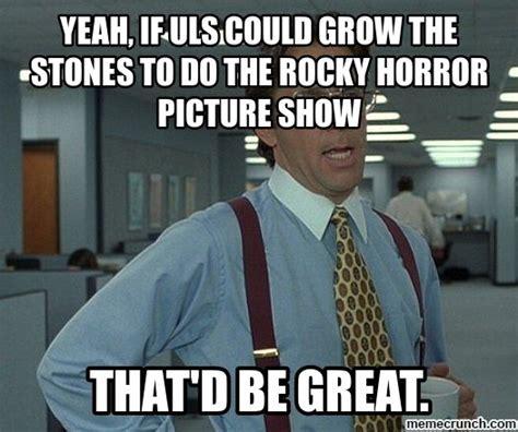 Rocky Horror Meme - rocky horror picture show